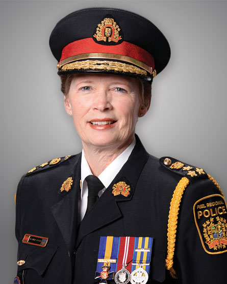 Picture of Chief Jennifer Evans