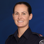 Media officer Constable Sarah Patten